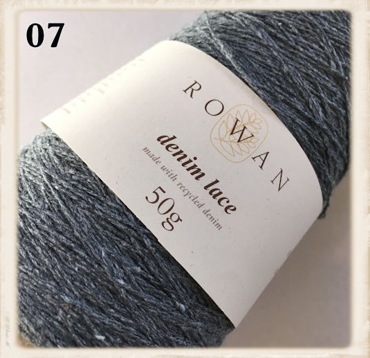 rowan denim lace ocean floor